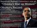 Obama's Record on Women's Issues - debate photo