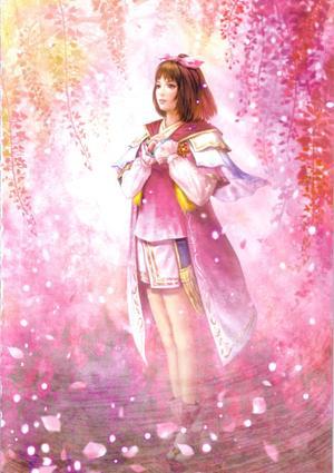 Oichi and the Sakura fleurs