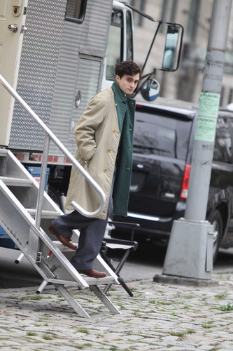 On the set of «Kill Your Darlings» - March 21, 2012 - HQ