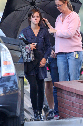 "On the set of ""The Bling Ring"" - día 3"