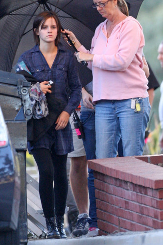 """On the set of """"The Bling Ring"""" - jour 3"""