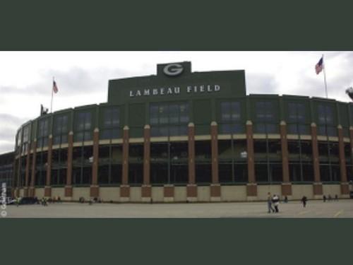 Outside The Legendary Packer Stadium & Lambeau Field