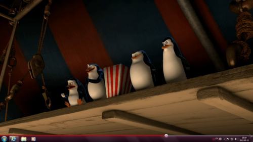 Penguins in Madagascar 3!