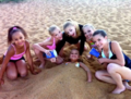 Playing in the sand - dance-moms photo