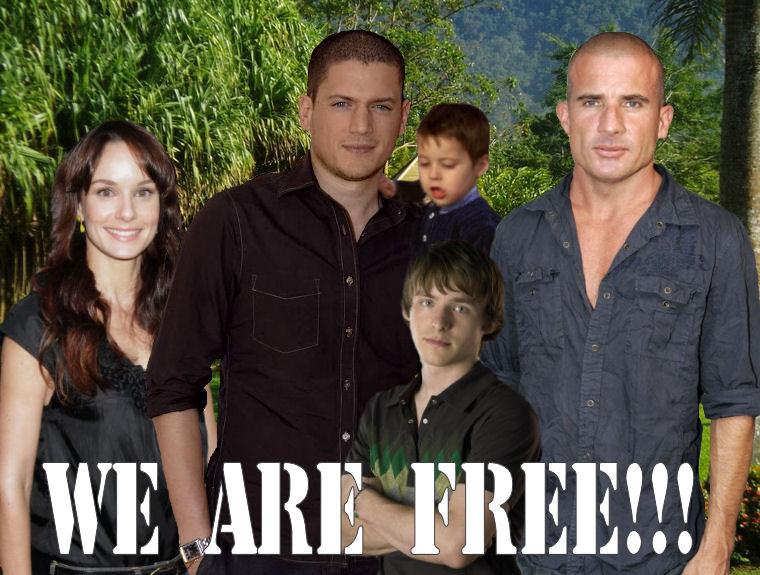 Prison Break - We are free!!!