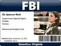 Reid's badge