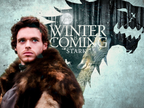 Robb Stark & Grey Wind
