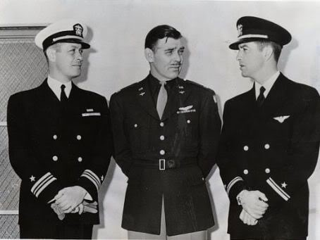 Robert Montgomery, Clark Gable & Robert Taylor
