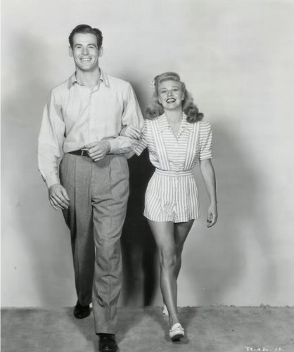 Robert Ryan & Ginger Rogers