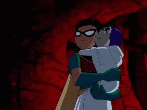 Robin x Raven