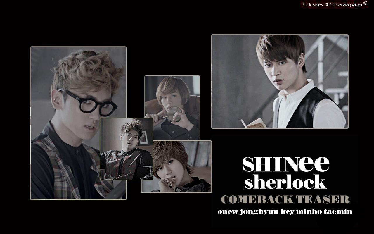 SHINee Sherlock - Shinee Wallpaper (29903409) - Fanpop Shinee Key Sherlock
