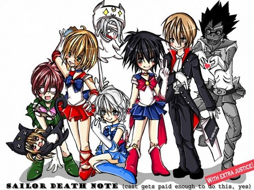 Sailor Death Note