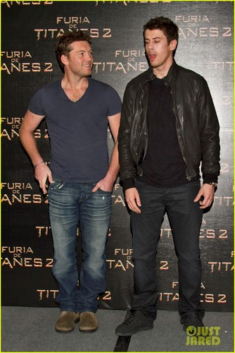 Sam Worthington: 'Wrath of the Titans' in Mexico
