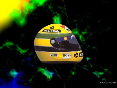 Senna helmet wolpeyper