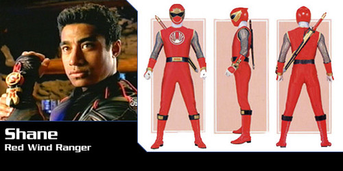 Shane Clarke (Power Rangers Ninja Storm)