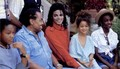 Sigmund Jackson Jr, Joe Jackson, Michael Jackson, Brandi Jackson and Yashi Brown  - michael-jackson photo