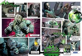 Skulduggery Pleasant Comic Strip