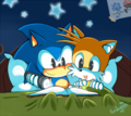 Sonic &amp; Tails  - miles-tails-prower photo