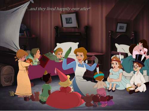 disney crossover achtergrond entitled Story Time