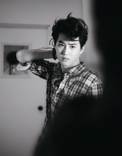 Suho @ High Cut - exo-k Photo