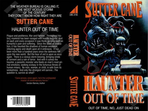 Sutter Cane Hunter Out of Time