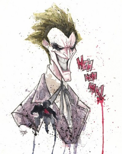 The Joker kertas dinding probably containing a bouquet titled The Joker