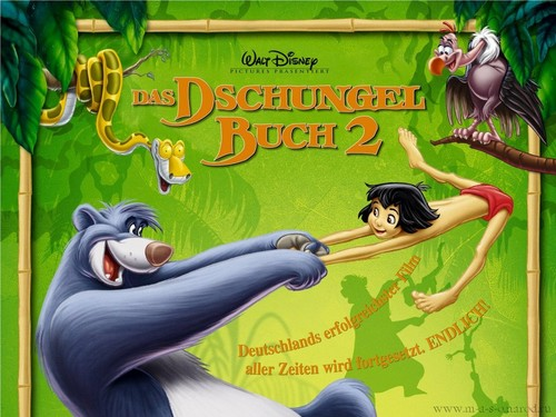 The Jungle Book wallpaper containing anime titled The Jungle Book