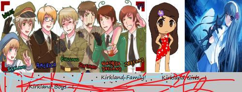 The Kirkland Family!