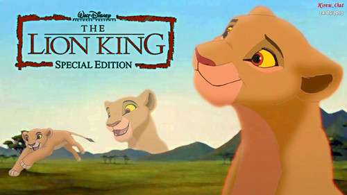 The Lion King Kiara Hintergrund HD