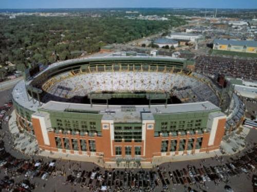 The Renovated Packer Stadium & Lambeau Field