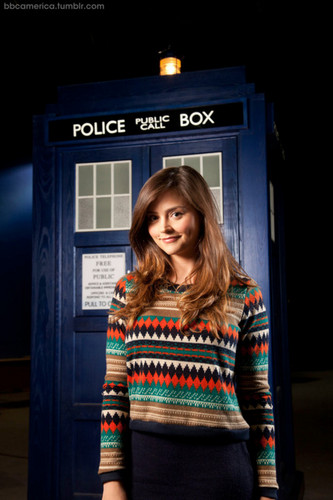 The first Official Doctor Who foto of Jenna-Louise Coleman.