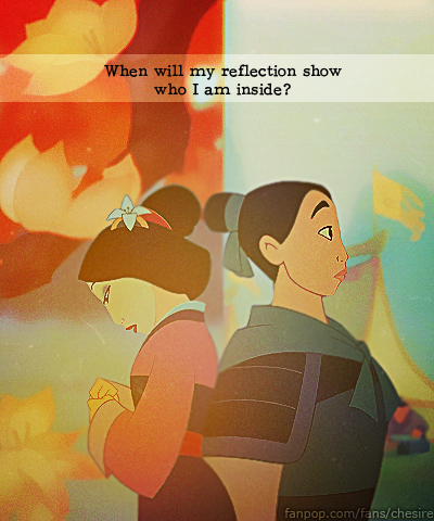 Then and Now - Mulan