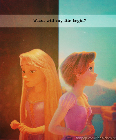 Then and Now - Rapunzel