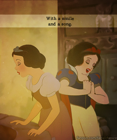 Then and Now - Snow White