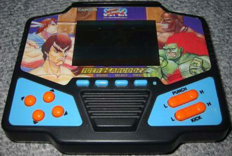 Tiger Barcodez LCD games