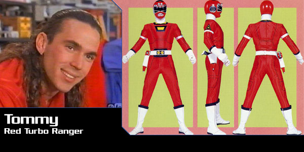Red Rangers Tommy Oliver (Power Rangers Turbo)