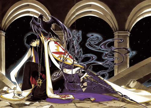 Tsubasa: Reservoir Chronicles karatasi la kupamba ukuta called Seishirou Sakurazuka (Shunraiki)