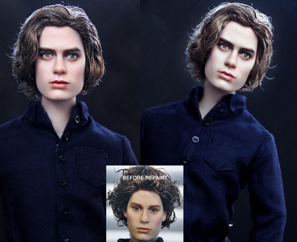 Twilight Jasper Doll Repaint