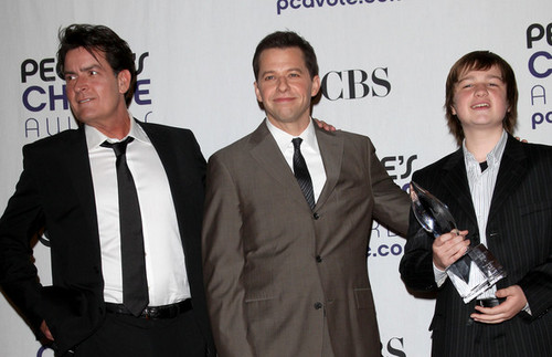 Two and a Half Men wallpaper containing a business suit and a suit entitled Two and a Half Men