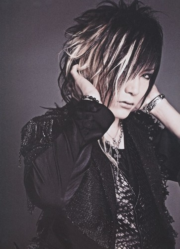 The Gazette achtergrond entitled Uruha