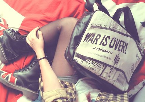 WAR IS OVER ♥