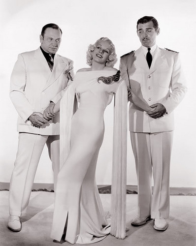 Wallace Beery, Jean Harlow & Clark Gable  - classic-movies Photo