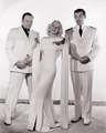 Wallace Beery, Jean Harlow & Clark Gable