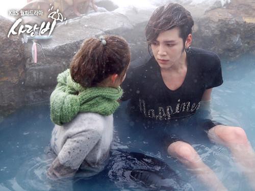 Yoona @ KBS 사랑 Rain