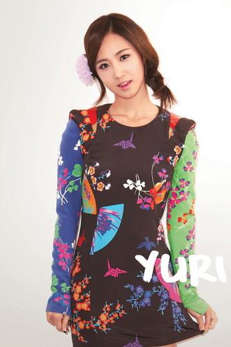 Yuri @ 2012 Girls' Generation iOS Diary Application