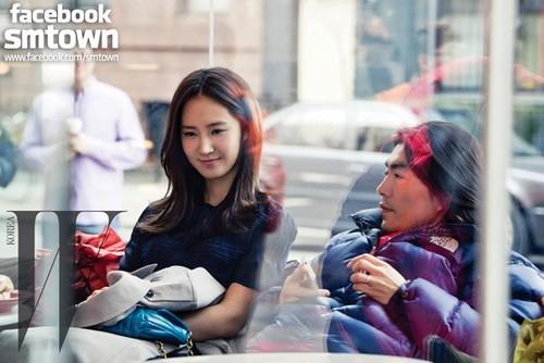 Yuri @ W KOREA