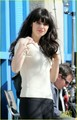Zooey Deschanel: Working Girl on 'New Girl' Set