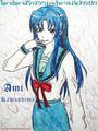 ami kawashima - anime fan art
