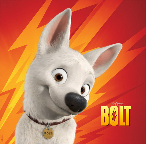 Disney's Bolt wallpaper entitled bolt