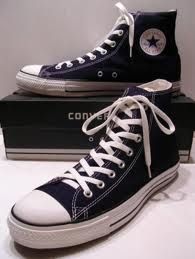 Converse shoe and box